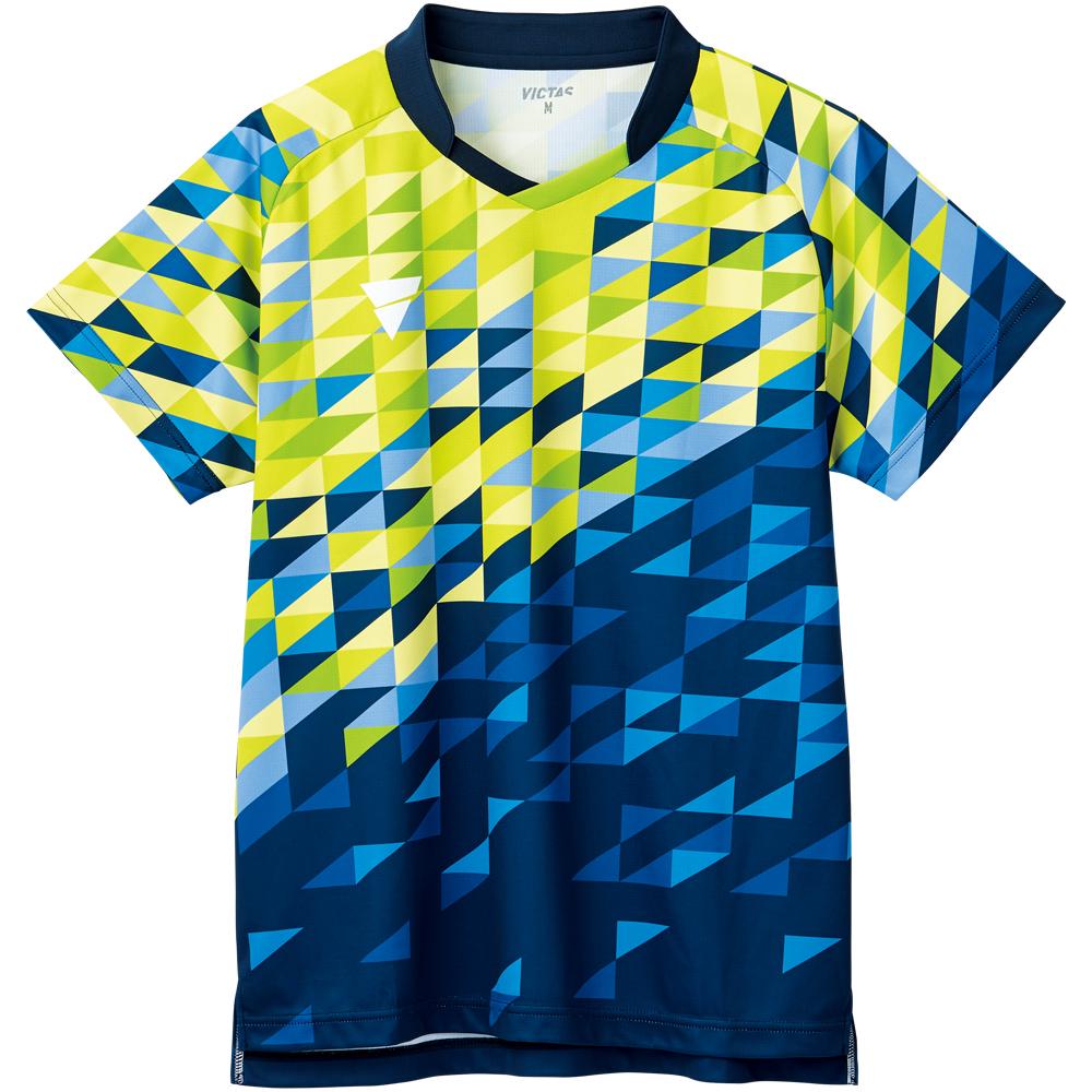 VICTAS 卓球 V-GS220 ユニフォーム ゲームシャツ 2021SS 全日本卓球 当たる