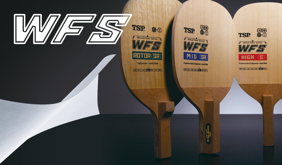 TSP  ラケット WFS 日本式ペン