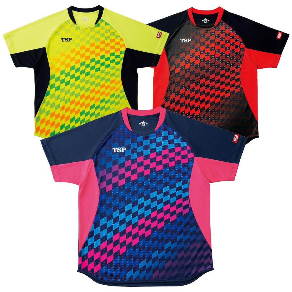 TSP チェッカーグラデシャツ ゲームシャツ ウェア