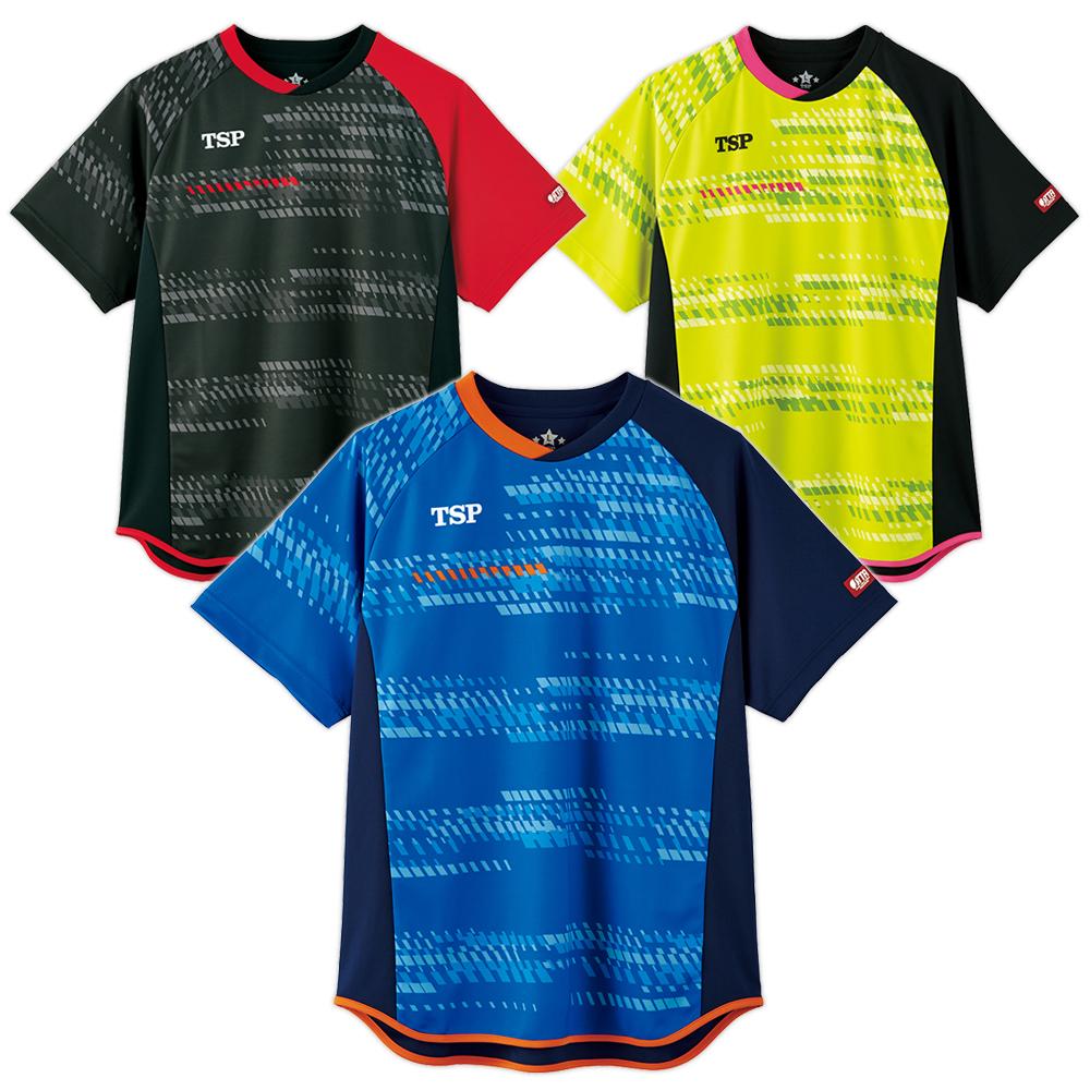 TSP 卓球 ユニフォーム ユニホーム リプレーサシャツ ゲームシャツ ウェア 試合 アパレル 2020 春夏