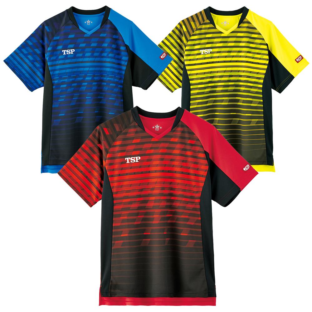 TSP 卓球 ユニフォーム ユニホーム レサントシャツ ゲームシャツ ウェア 試合 アパレル 2020 春夏
