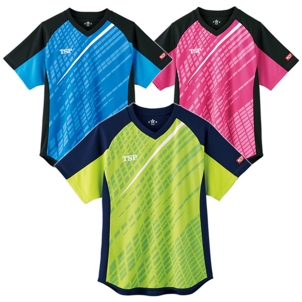 TSP 卓球 ユニフォーム ユニホーム デルニエシャツ ゲームシャツ ウェア 試合 アパレル 2020 春夏