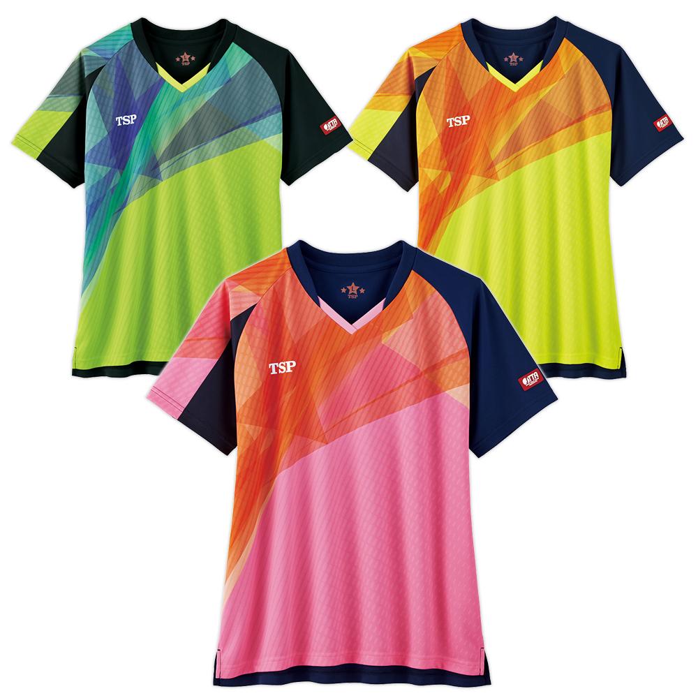 TSP 卓球 レディース ユニフォーム ユニホーム レディスフィナールシャツ ゲームシャツ ウェア 試合 アパレル 2020 春夏