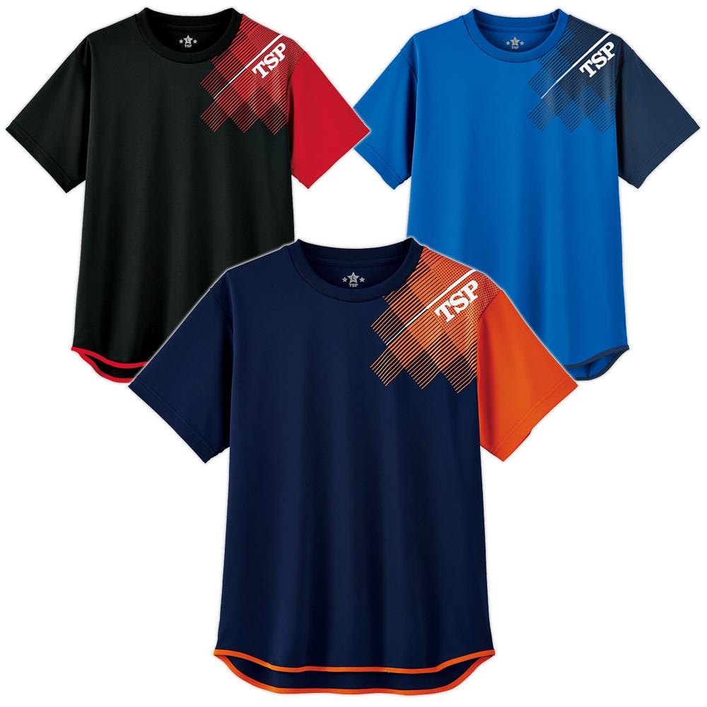 TSP 卓球 Tシャツ 練習 練習着 TT-120シャツ 2020 春夏