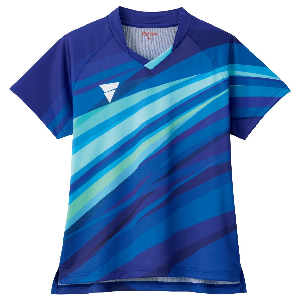 VICTAS ヴィクタス VICTAS PLAY ヴィクタスプレイ 卓球 ウェア ゲームシャツ ユニフォーム V-OLGS236 V-OSK238