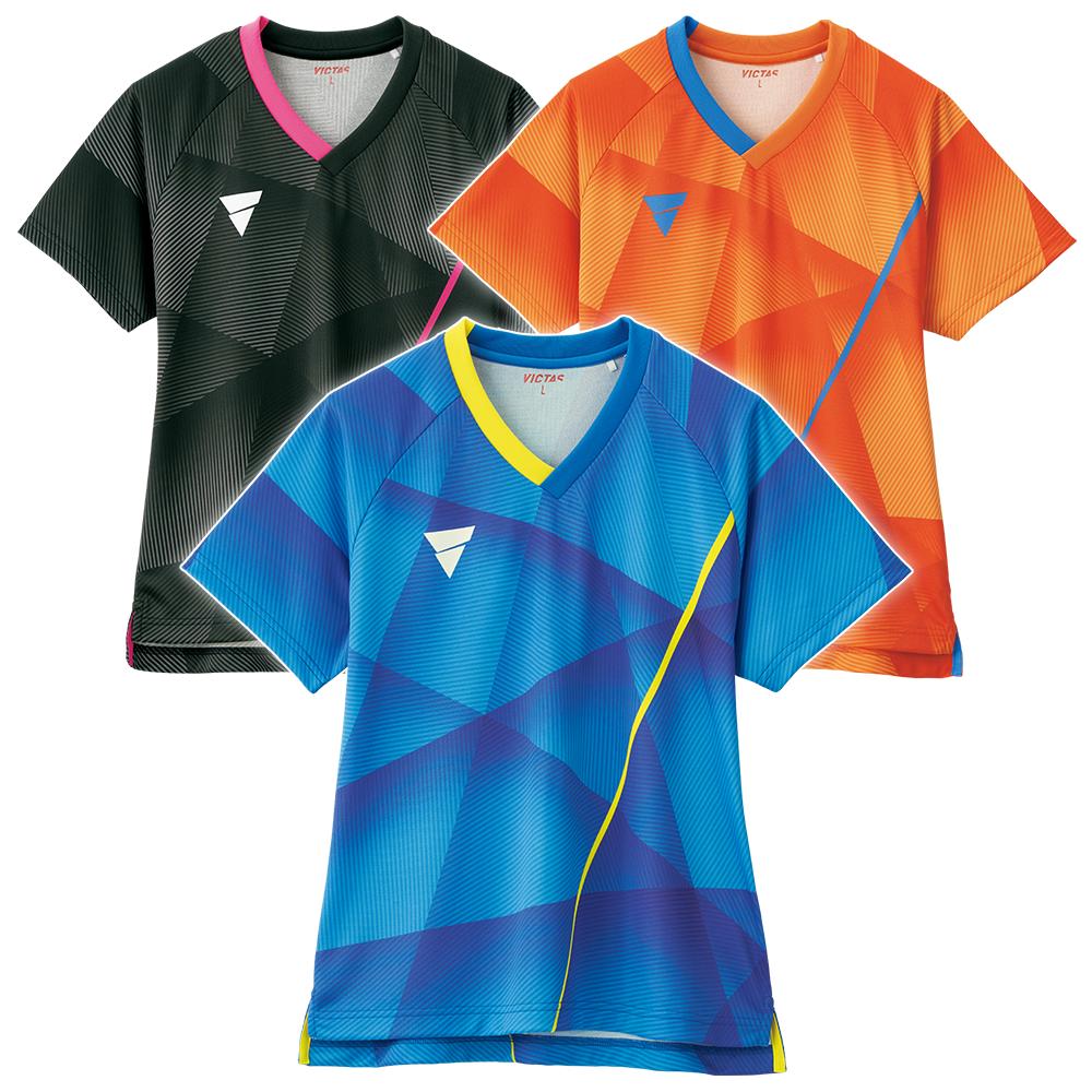 VICTAS 卓球 ユニフォーム ユニホーム V-LNGS201 ゲームシャツ ウェア 試合 アパレル 2020 春夏