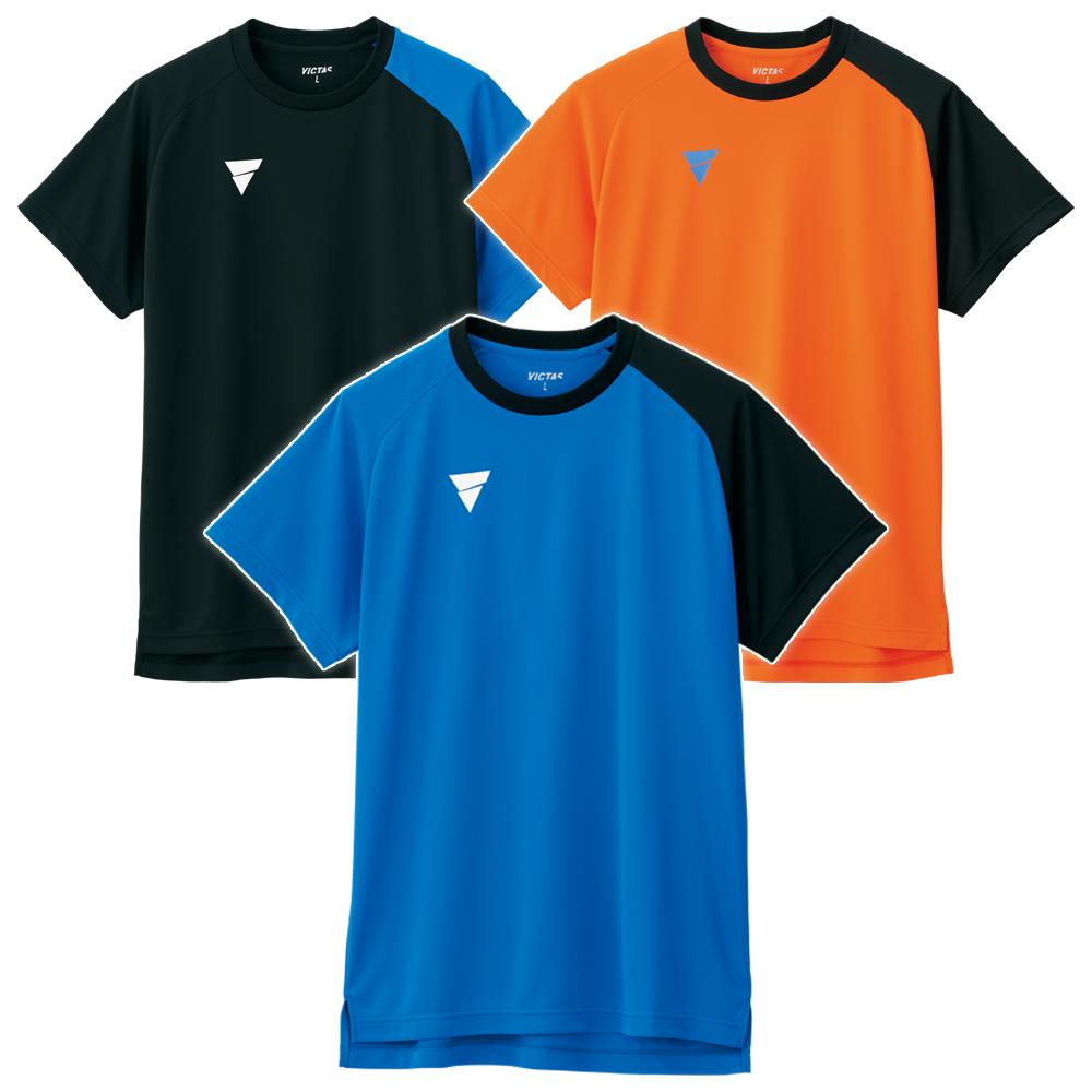 VICTAS 卓球 トレーニング Tシャツ V-NTS204 練習 練習着 2020 春夏