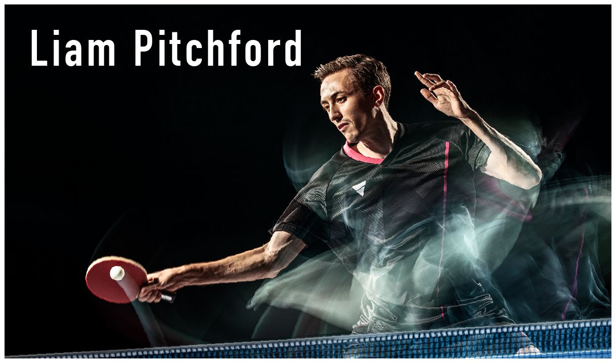 Liam Pitchford ラケット 卓球 リアムピッチフォード シェークハンド カーボン