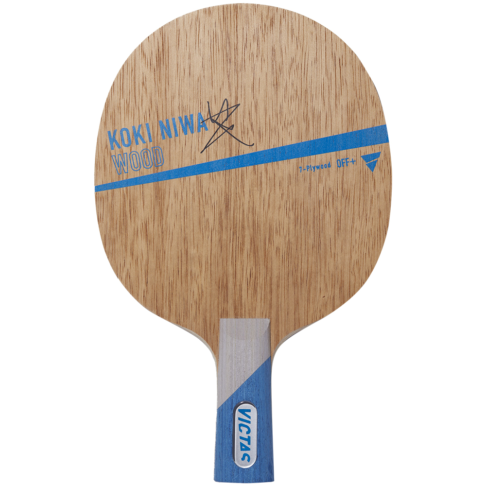KOKI NIWA WOOD CHN 中国式 ラケット VICTAS 卓球 新商品