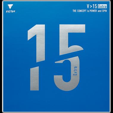 VICTAS 卓球 裏ソフト 裏ラバー 用具紹介 V>15 Extra ブイイチイチエキストラ
