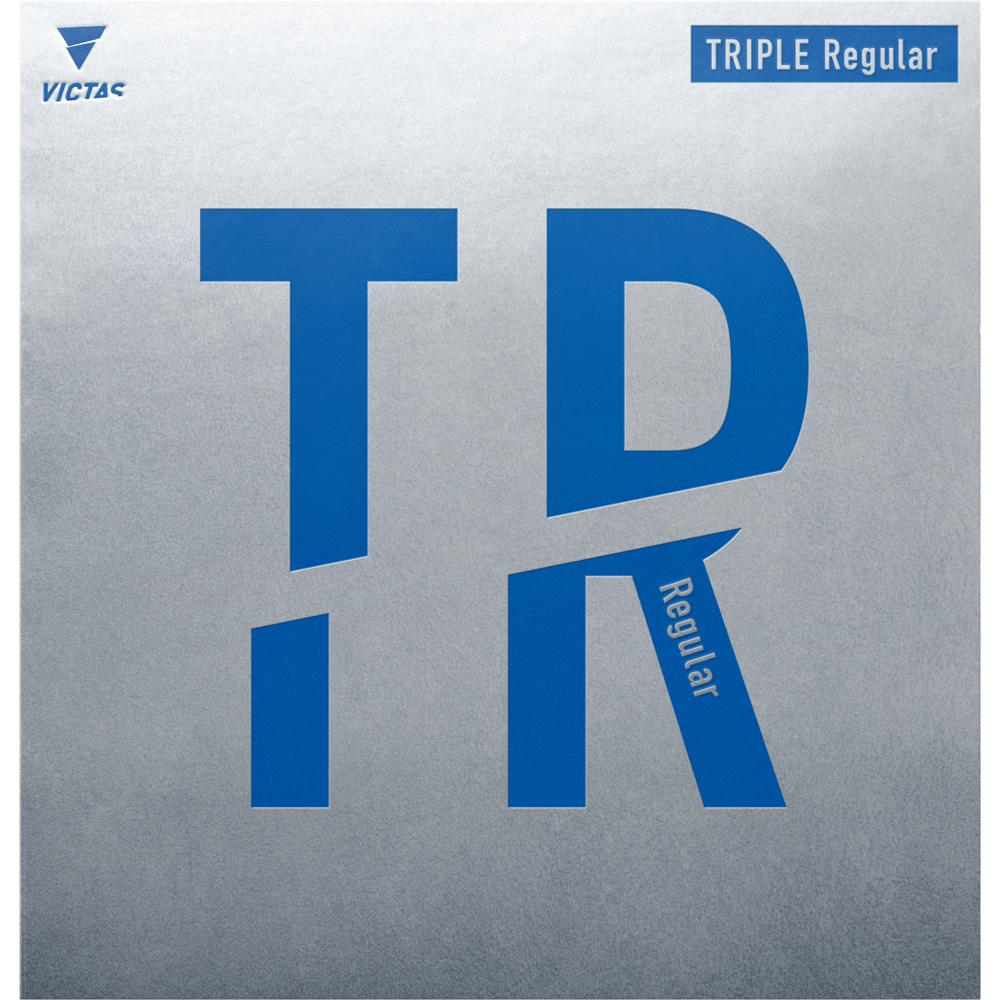 VICTAS 卓球 ラバー 強粘着 粘着ラバー TRIPLE Regular トリプルレギュラー