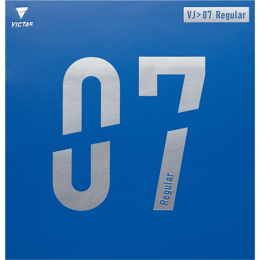 VJ>07 Regular 07シリーズ ラバー 裏ソフト VICTAS JOURNAL 用具紹介