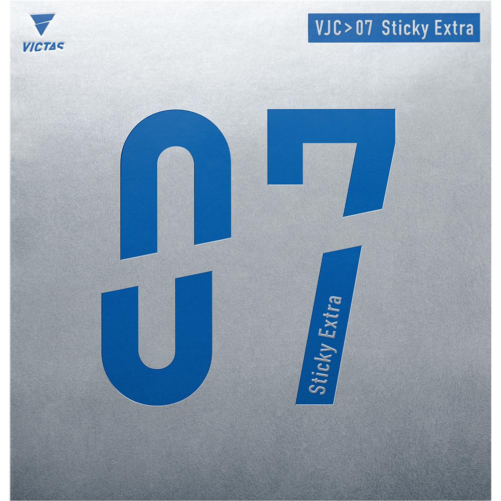 卓球 VICTAS VJ>07 07シリーズ レビュー Regular レギュラー Limber リンバー Stiff スティフ StickyExtra スティッキーエキストラ