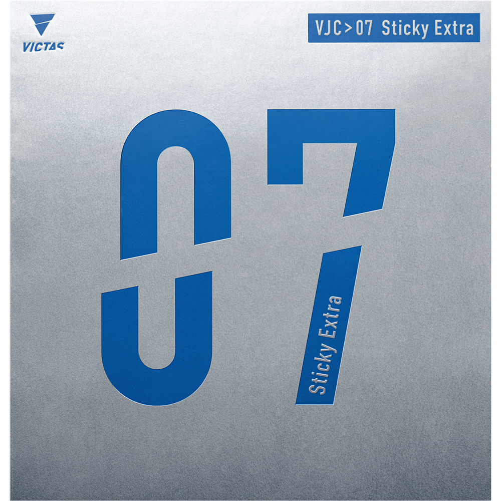 VJ>07 Sticky Extra 07シリーズ ラバー 卓球 裏ソフト VICTAS JOURNAL