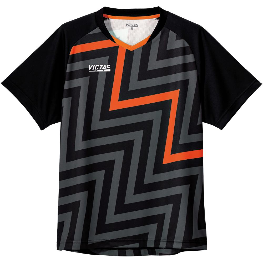 VICTAS ヴィクタス VICTAS PLAY  ヴィクタスプレイ 卓球 ユニフォーム ウェア サンダーボルトゲームシャツ THUNDER BOLT GS
