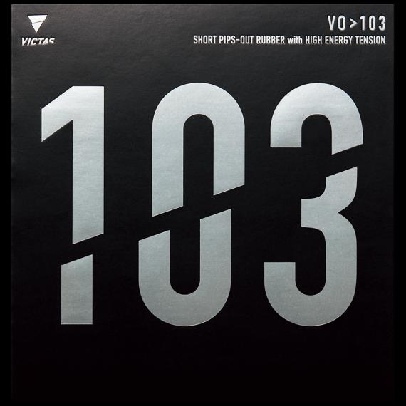 VO>103 103 卓球 表ソフト ラバー VICTAS ヴィクタス TSP 若宮三紗子