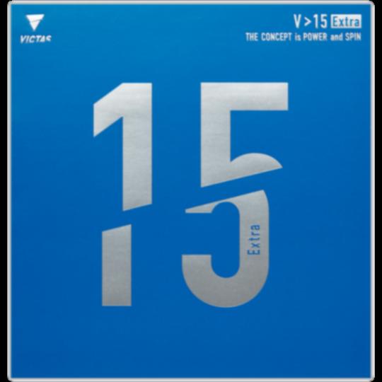 V>15 Extra エキストラ 卓球 裏ソフト ラバー TSP VICTAS ヴィクタス 若宮三紗子 契約選手