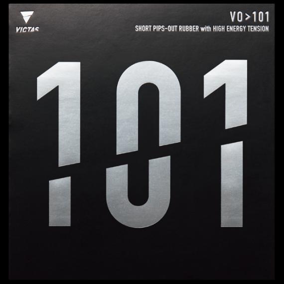 VO>101 卓球 ラバー 表ソフト 表ラバー TSP VICTAS ヴィクタス 古川佳奈美 契約選手