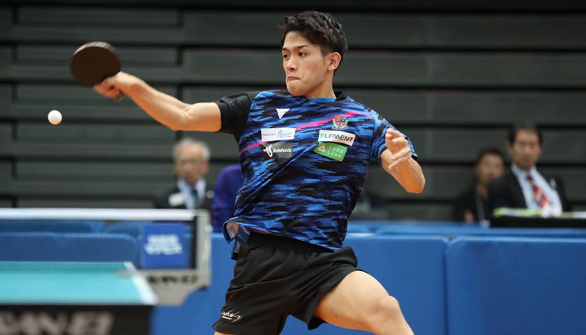 VICTAS 卓球 契約選手 吉村和弘 回り込み