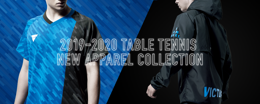 VICTAS 2019-2020 TABLE TENNIS NEW APPAREL COLLECTION