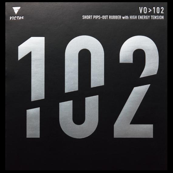 VO>102 ブイオーイチマルニ 表ソフト 表ラバー 表 VICTAS ヴィクタス ラバー