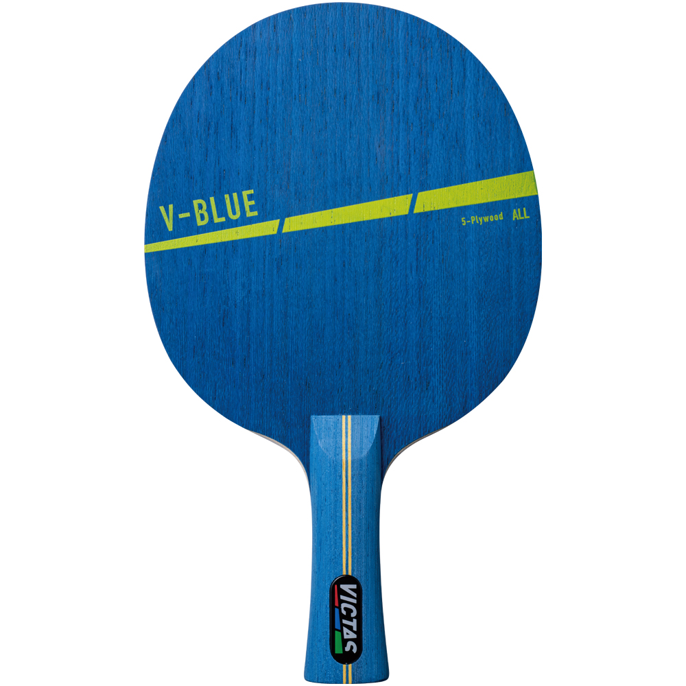 VICTAS ヴィクタス VICTAS PLAY ヴィクタスプレイ 卓球 V-BLUE V-ブルー 初心者 上達 コツ ラケット  Begginers 用具ガイド VICTAS
