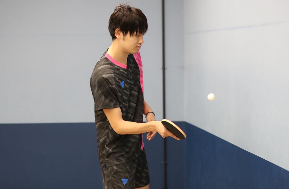 壁打ち編 卓球 リフティング 練習 村松 雄斗 VICTAS 契約選手 カットマン