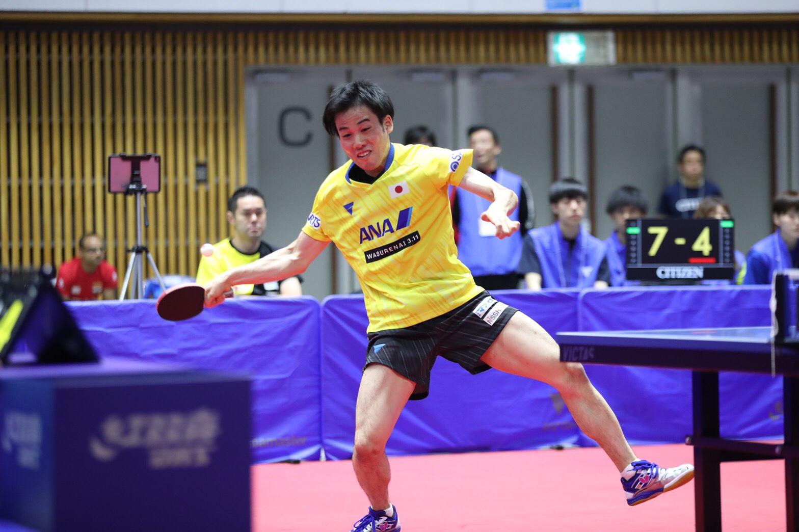 平野友樹 ライオン卓球ジャパンオープン VICTAS JOURNAL 卓球 男子シングルス 2日目