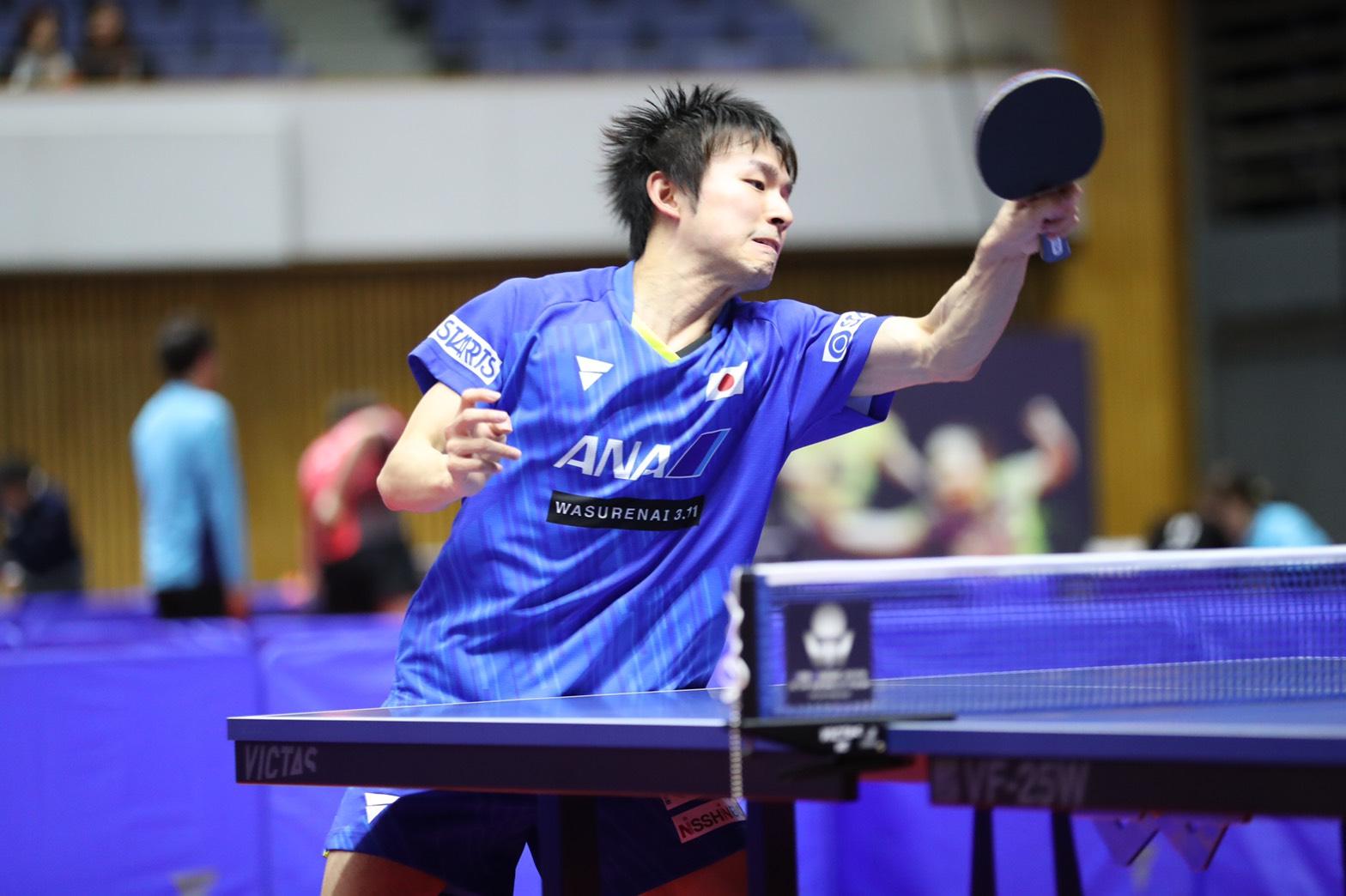 卓球 ジャパンオープン 札幌 丹羽孝希 張本智和 神 カルデラノ VICTAS  VICTASJOURNAL 男子シングルス 1回戦