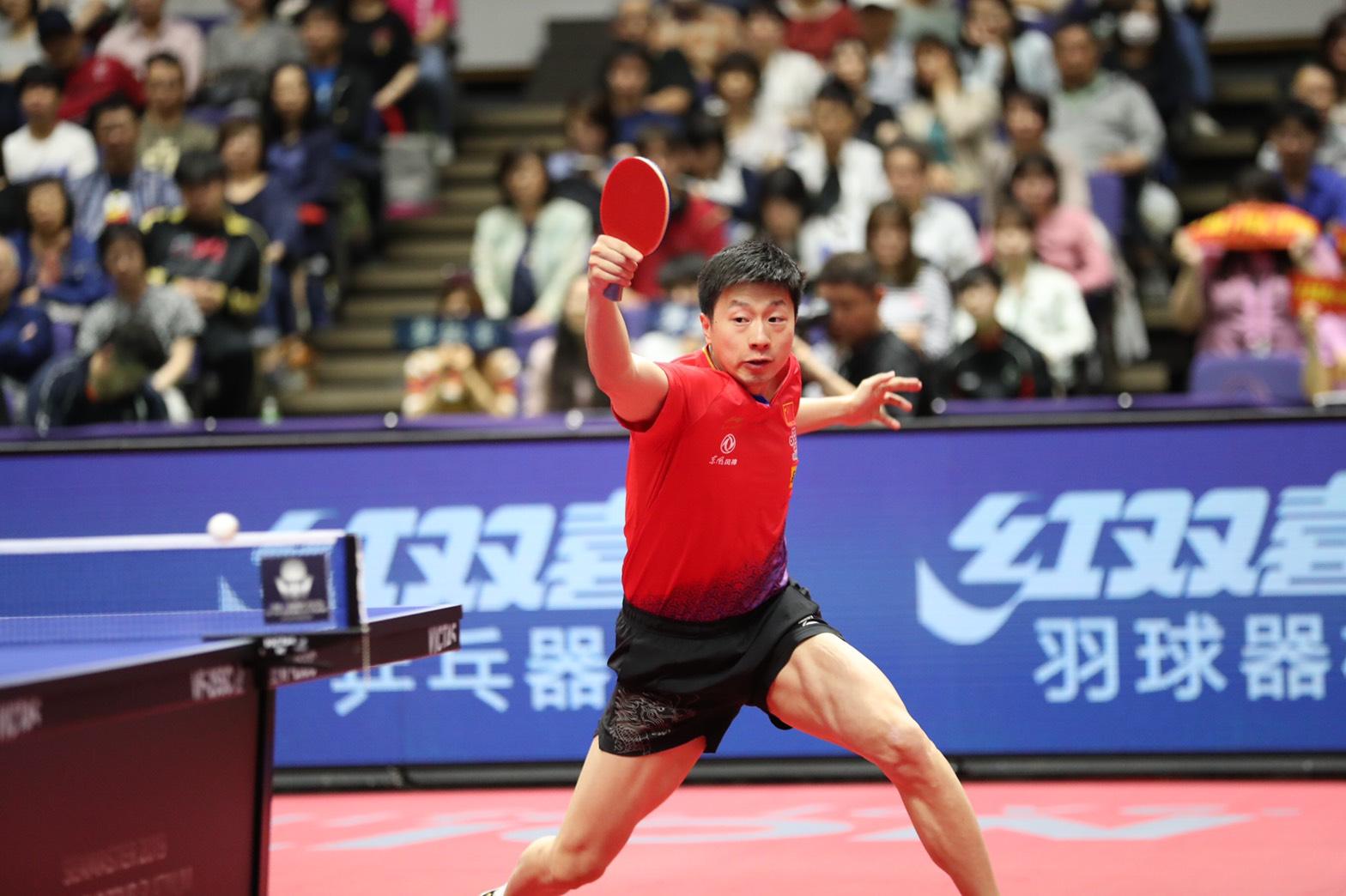 卓球 VICTAS ヴィクタス ビクタス ライオン卓球ジャパンオープン荻村杯 札幌大会 馬龍