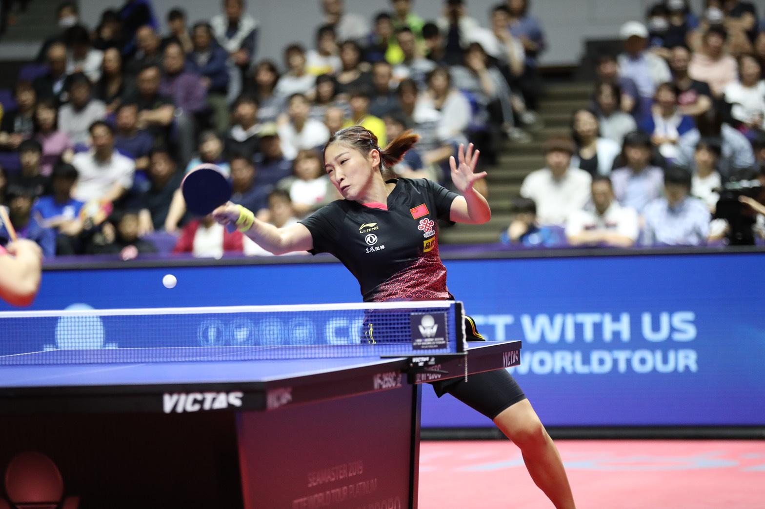 卓球 ジャパンオープン 札幌大会 孫穎莎 劉詩雯  VICTAS  女子シングルス 決勝