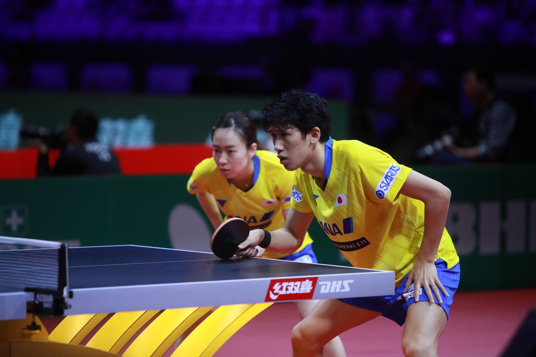 VICTAS JOURNAL 国際大会 世界卓球2019 ブダペスト大会 卓球 混合ダブルス