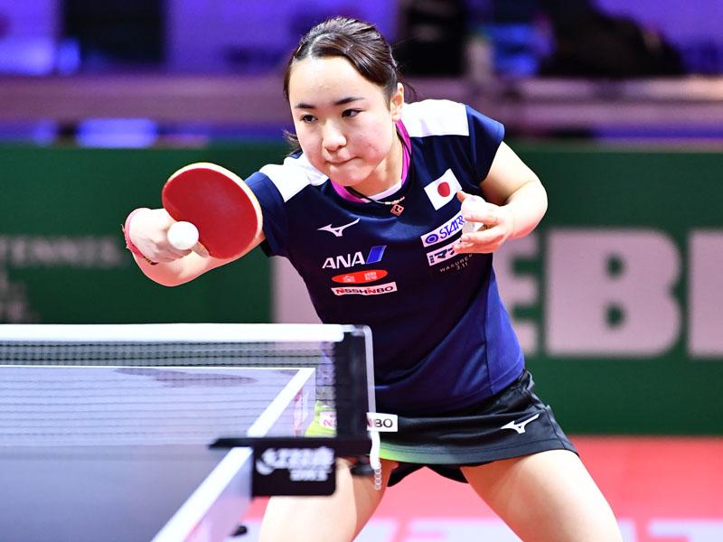 卓球 世界選手権 女子シングルス 伊藤美誠