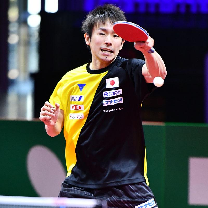 卓球 世界選手権 男子シングルス VICTAS 丹羽孝希