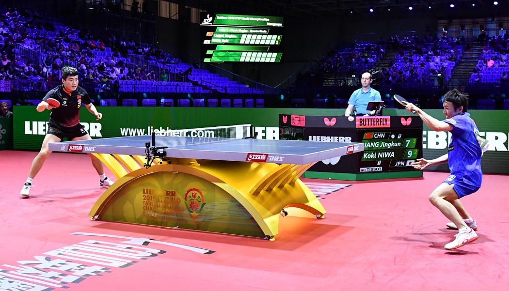 VICTAS JOURNAL 世界卓球選手権大会 世界卓球2019 ブダペスト大会 卓球 丹羽孝希 シングルス