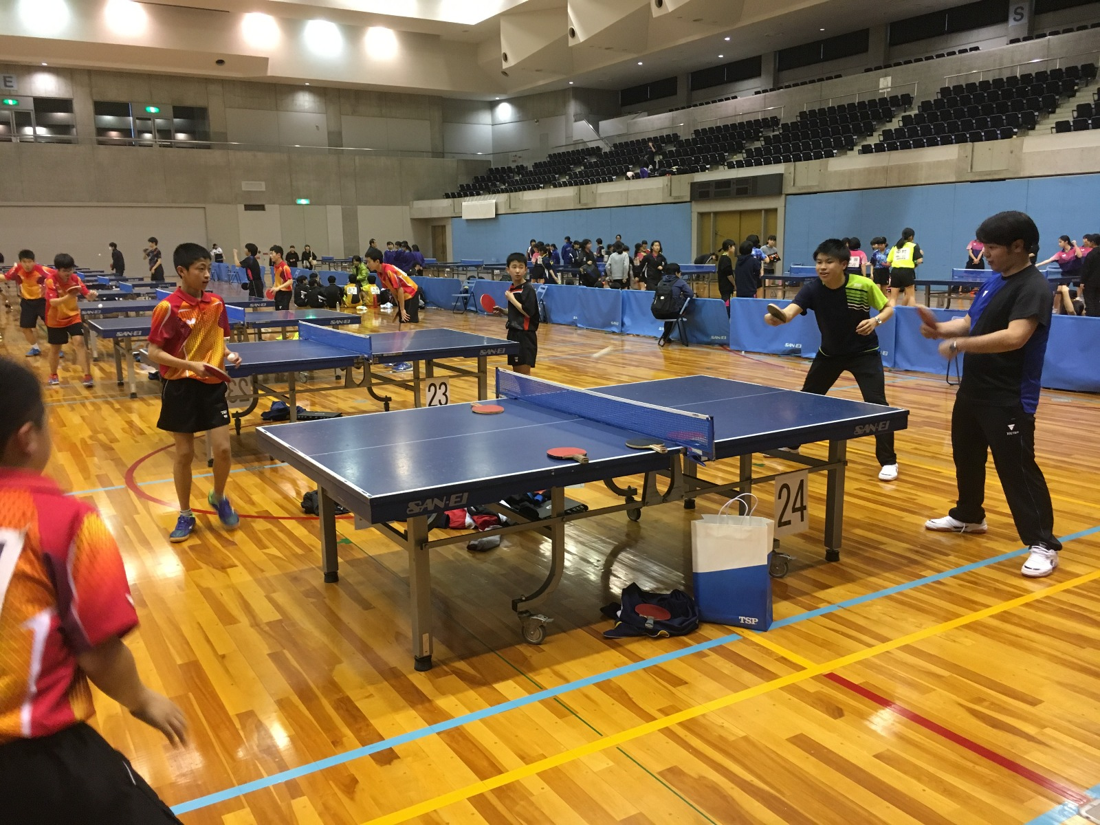VICTAS JOURNAL その他大会 中学オープン卓球研修会