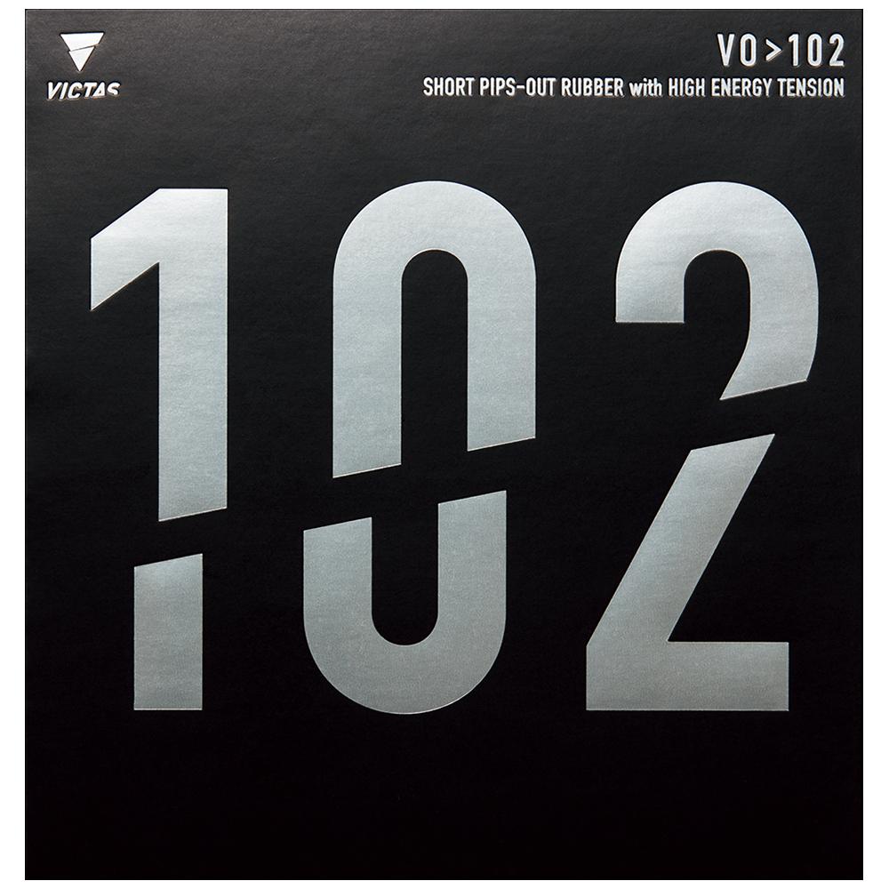 VICTAS VO>102 ラバー 表ソフト 表ラバー 木原美悠 使用ラバー