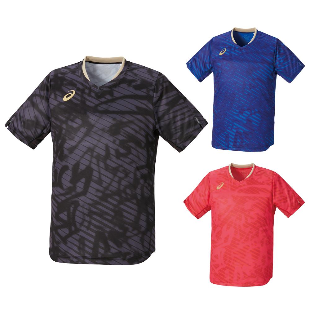 ASICS 2073A016 クールゲームシャツ ウェア ユニフォーム 卓球
