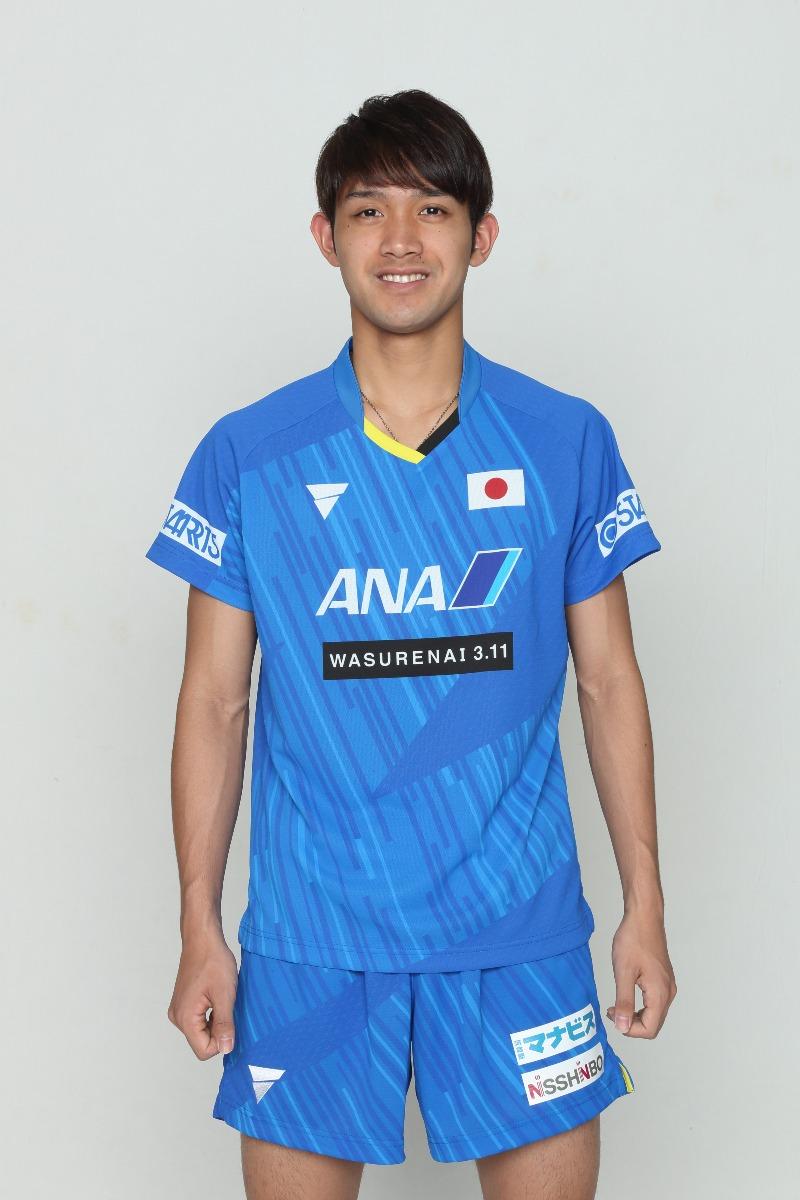 吉村和弘 卓球 男子日本代表モデル ユニフォーム ゲームシャツ V-NGS900 V-NGP904 VICTAS JOURNAL VICTAS