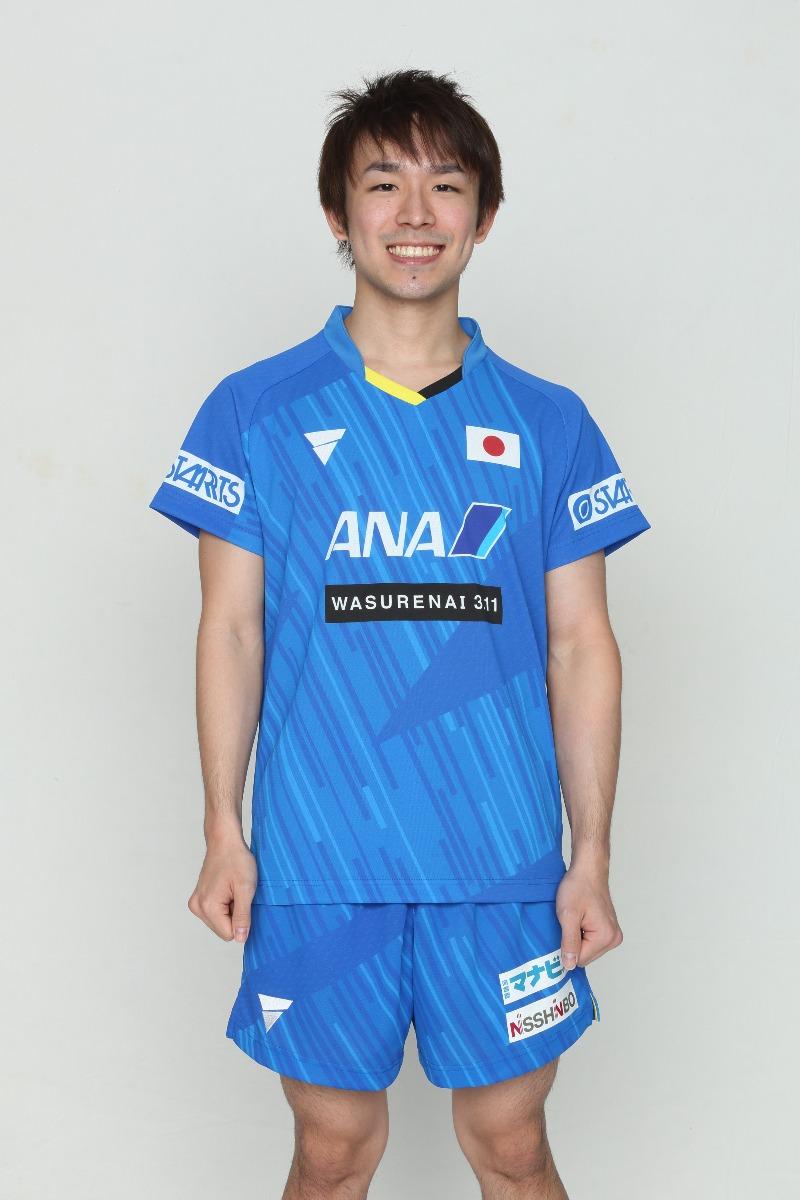 丹羽孝希 卓球 ユニフォーム 卓球男子日本代表モデル ゲームシャツ V-NGS900 VICTAS VICTAS JOURNAL