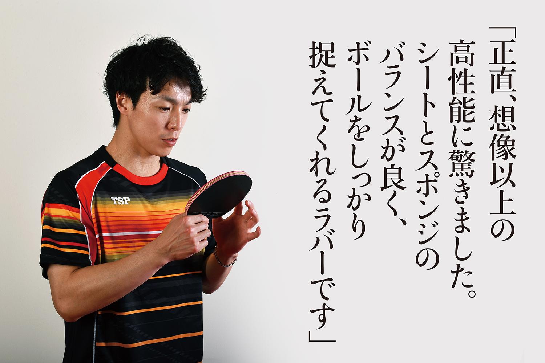 VICTAS VICTAS JOURNAL TSP 松平賢二 卓球 ヴェンタス スーパーヴェンタス ラバー 裏ソフト 裏ラバー