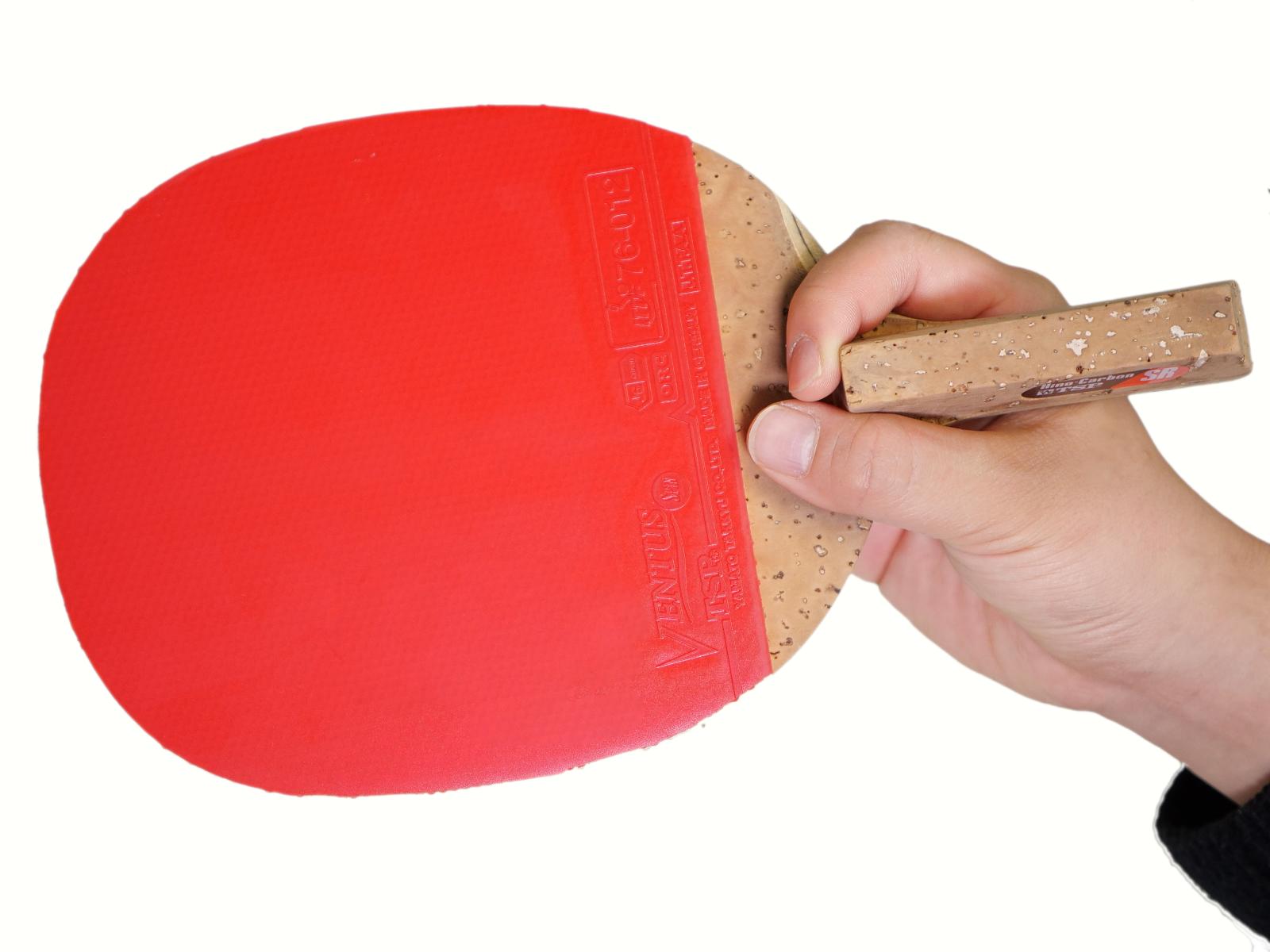 卓球 ラケット ペンホルダー 削り方 TSP VICTAS