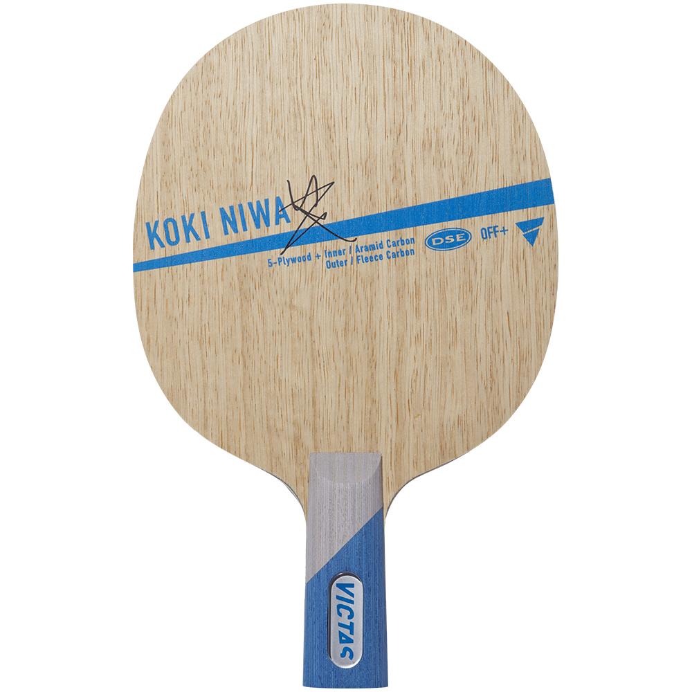 KOKI NIWA WOOD VICTAS ラケット 中国式 CHN 卓球用語集 VICTAS JOURNAL
