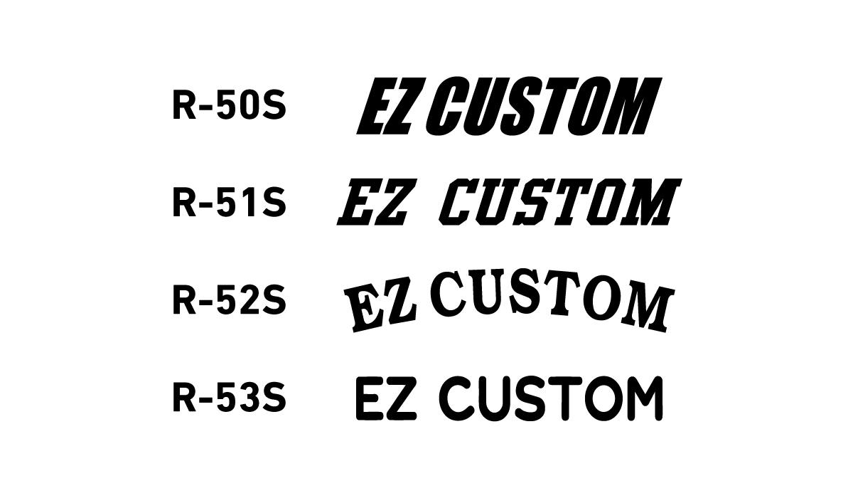 人気のオリジナルウェア制作WEBサービス 「VICTAS EZ CUSTOM」に新フォントが誕生! VICTAS ヴィクタス VICTAS PLAY ヴィクタスプレイ 卓球 ユニフォーム ウェア オリジナルウェア