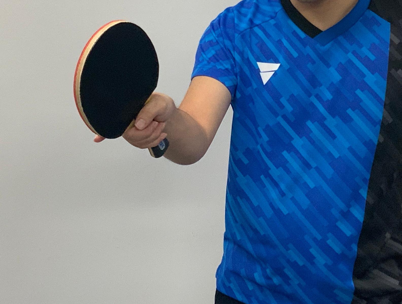 卓球 練習 フォアハンド スイング 角度打ち